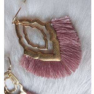 Jewelry - Art Deco Fringe Earrings